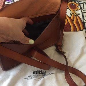 Natural leather Mini Satchel Crossbody